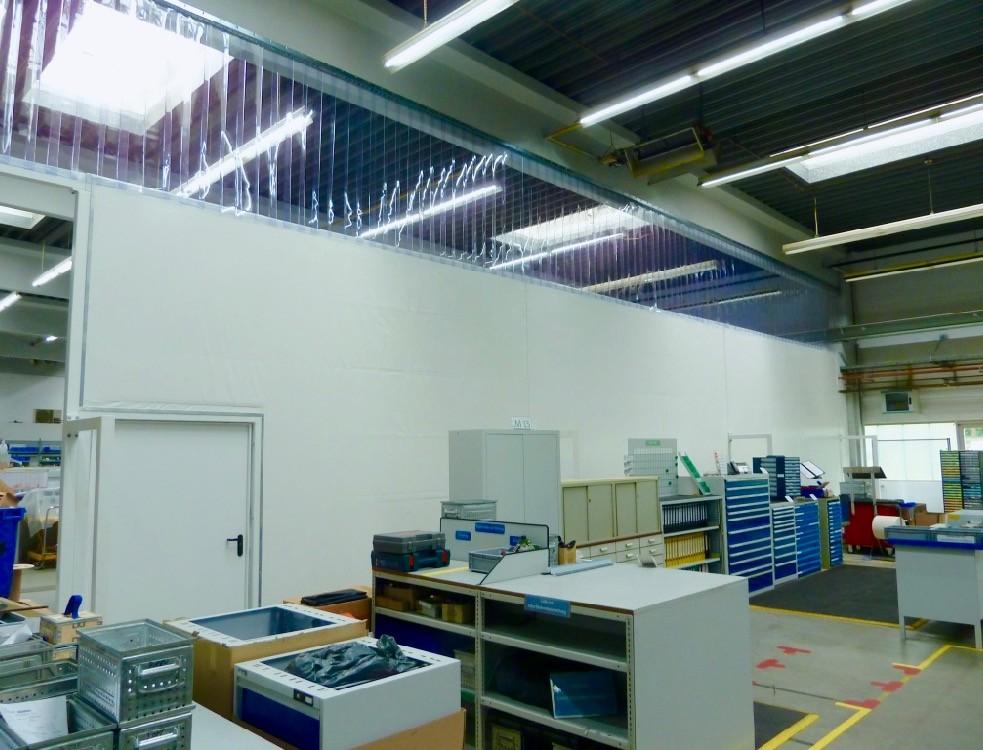 Extrem Schallschutz-Trennwände | Relais Textilien MJ93